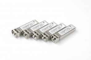 Lot of 5 Finisar FTLX8571D3BCL-(N1) 10G SFP+, SW Multimode SFP+ Transceiver