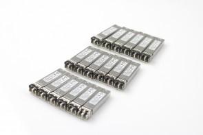 Lot of 19 JDSU PLRXPL-SC-S43NA1 10G SFP+ SR 850nm Trans 332-00363+A0