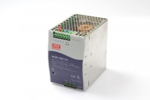 MEAN WELL WDR-480-24 Switching Power Supply 200-500VAC,4A, 50/60Hz,OP: 24V, 20A